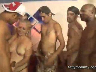 new granny, fun gang bang full, interracial