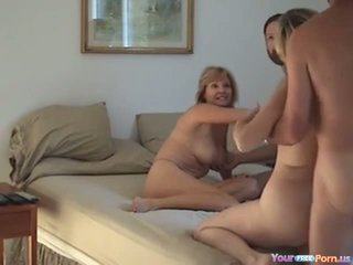 Homemade Swinger Foursome Video