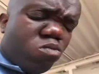 Sexy Ebony Cop Fucked By Midget Video