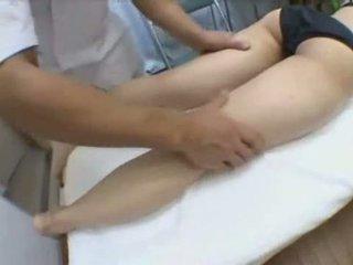 Asian Babe Creampie Fucked