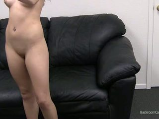 Kaylie On Backroom Casting Couch...