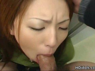 Tomoe hinatsu é o sexo brinquedo para dela grande