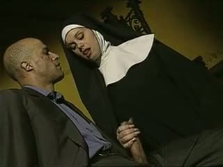 sexy, böse, italienisch, nuns