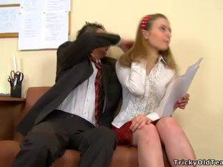 Doggystyle knulling med lærer