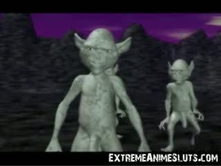 Tatlong-dimensiyonal aliens sa a prinsesa!