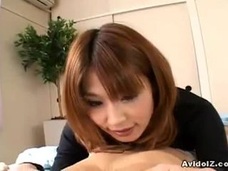 si rambut cokelat, nice ass kesenangan, seksi japanese