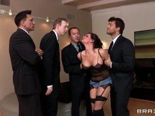 double penetration, veľké prsia, análny