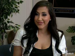 Hon wants till vara en känd porr stjärna video-