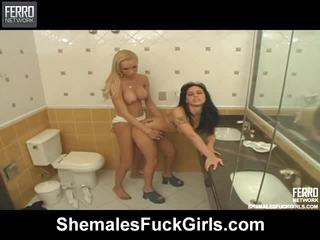 Φημισμένος πορνοστάρ deise, agatha, renata από shemales γαμώ κορίτσια getting βρόμικο