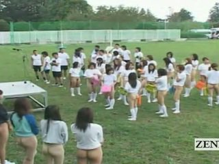 Subtitled bottomless назовні японія schoolgirls assembly