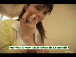 Rin Mature Asian Wife In Bed Gets A Blowjob A Titsjob