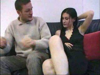 Ovidie סקס ב a ספה צרפתי