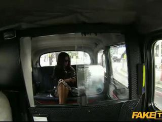 Busty woman Elicia screwed up a driver