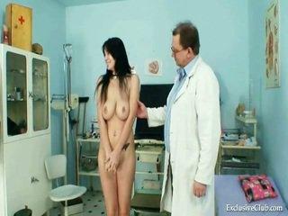 Голям knocker adriana мляко shakes и mound gyno преглед при извратен clinic