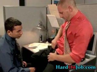 Hawt Gay Lad Gets Assholle Rimmed On Desk 1 By HarDonjob