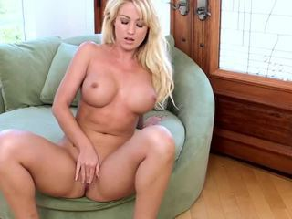 Busty Angela Sommers Loves Deep Pussy Fingering