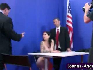 Joanna engel geneukt hard in orgie