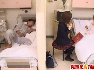 नॉटी जपानीस टीन gets गड़बड़