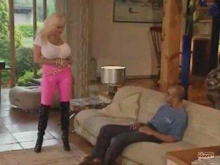blondinen, beobachten große titten, spaß anal beobachten