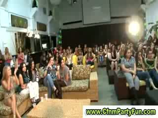 Military stripper gest Blowjob in cfnm party