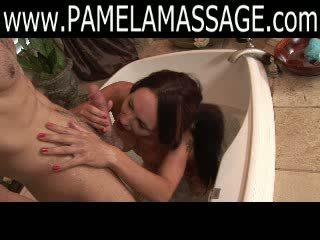 Fantastic Massage by Hot Quite girl