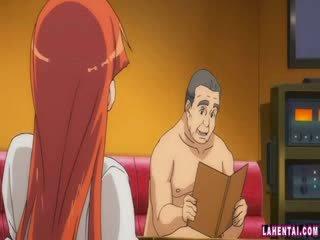 Hentai nena slammed por más viejo hombre