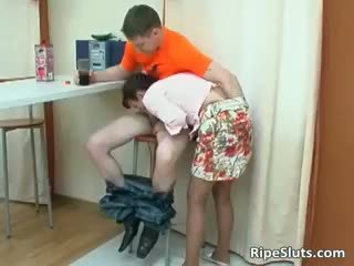 Mom Is Horny As She Gently Touches Boy Part4