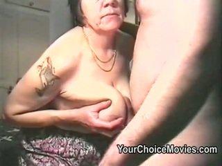 Tua couples perilaku seks menyimpang dibuat di rumah porno film