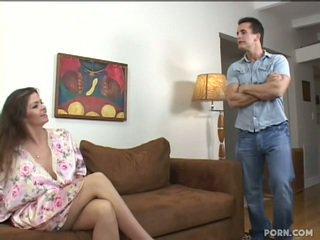 Veliko oprsje step-mom fukanje ji sin
