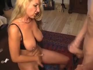 German mom fucks her stepson Video