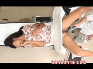 japonês, webcam, médico