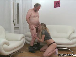 Guy sold his girlfriend's holes for old man.