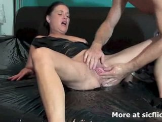 quality brunette, full squirting, pee