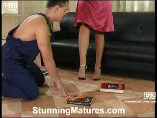 Awesome Stunning Matures Scene With Amazing Porn Stars Martha, Bridget, Sebastian