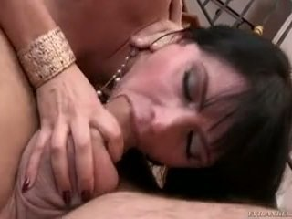 After A Large Day's Work Eva Is Craving Meaty Private Action In Her Butthole