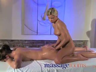 Masažas rooms klitoris patrinti už jos orgazmas su masseuse