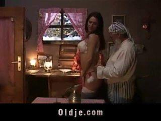 Seksi çirkin gift için eski adam.