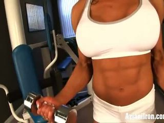 עירום עבודה את עם female bodybuilder marina lopez