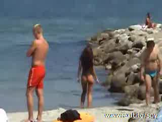 Spying on the Beach in Summer 2013 Video