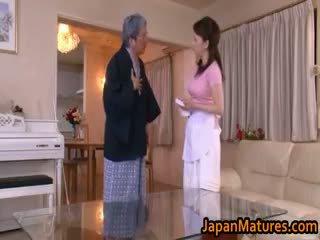 japonec, skupinový sex, velká prsa, amatér