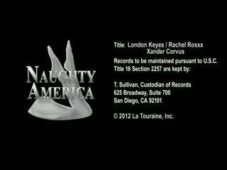 London keyes & rachel roxxx