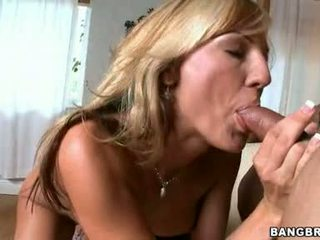 Cock Starved Momma Val Malone Fits A Moist Meatstick In Her Hawt Warm Mouth