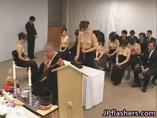 japanese, group sex, big boobs, interracial