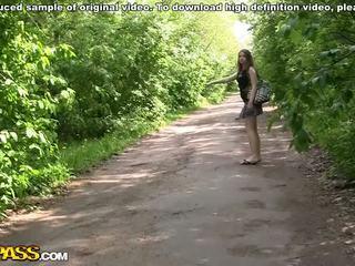 Gang bang fuck with a hot school girl Video