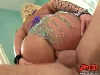 Breasty blond georgia peach gets asspounded ja gets a räpane seemnepurse