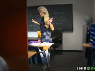 blowjob, classroom, schoolgirls, school uniform