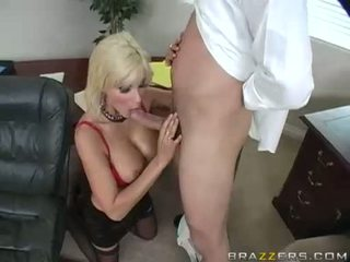 Breasty Babe Puma Swede Blows A Long Hard Cock