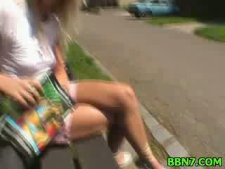 Öffentlich aus doors puppe schnecke sex hardcore blowjob