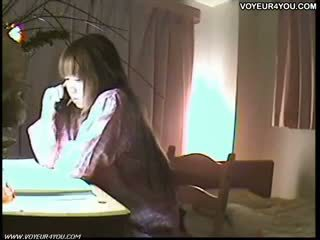 brunette check, best japanese hq, hot voyeur watch