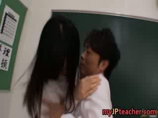 Azusa Nagasawa oriental big boobed teacher